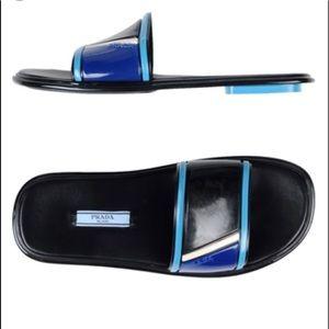 Prada rubber slides